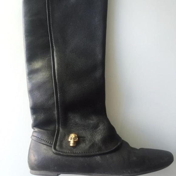 Knee High Alexander Mcqueen Boots Size